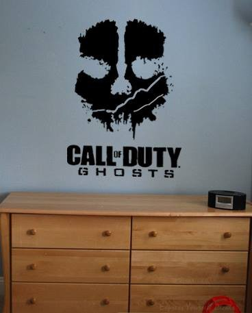 Call of duty wall decal sticker