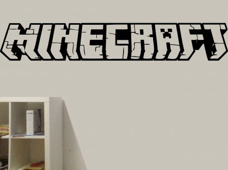 Minecraft wall art decal