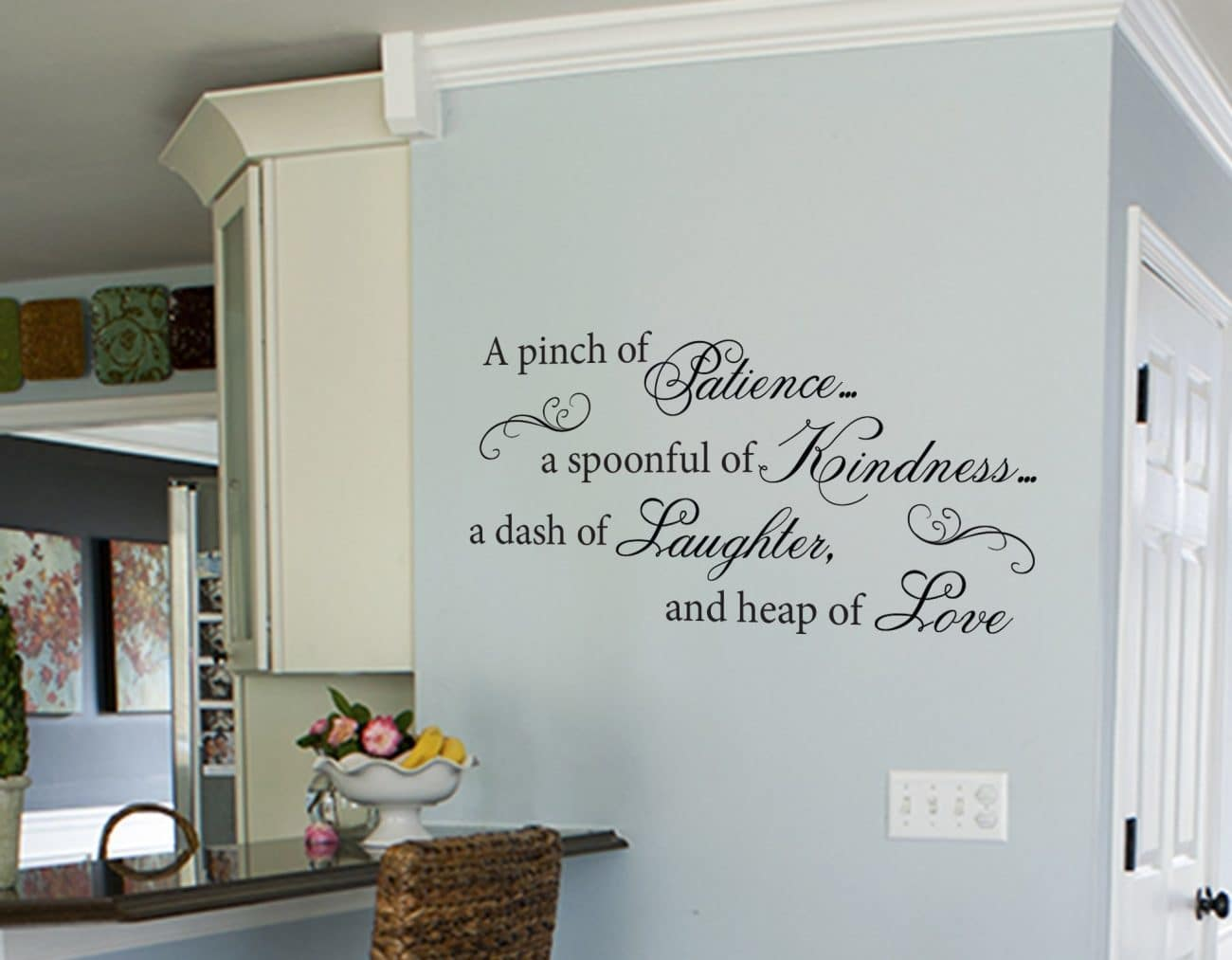 Patience wall art decal