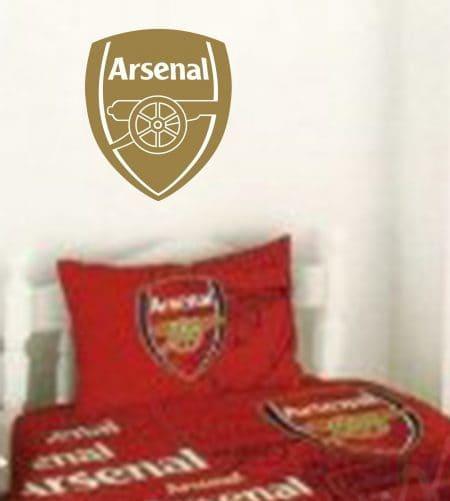 Arsenal crest wall art decal