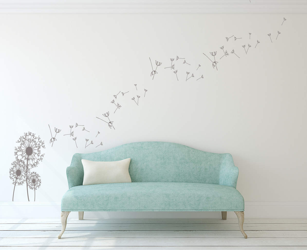 Dandelion Wall Art Decal Part 56