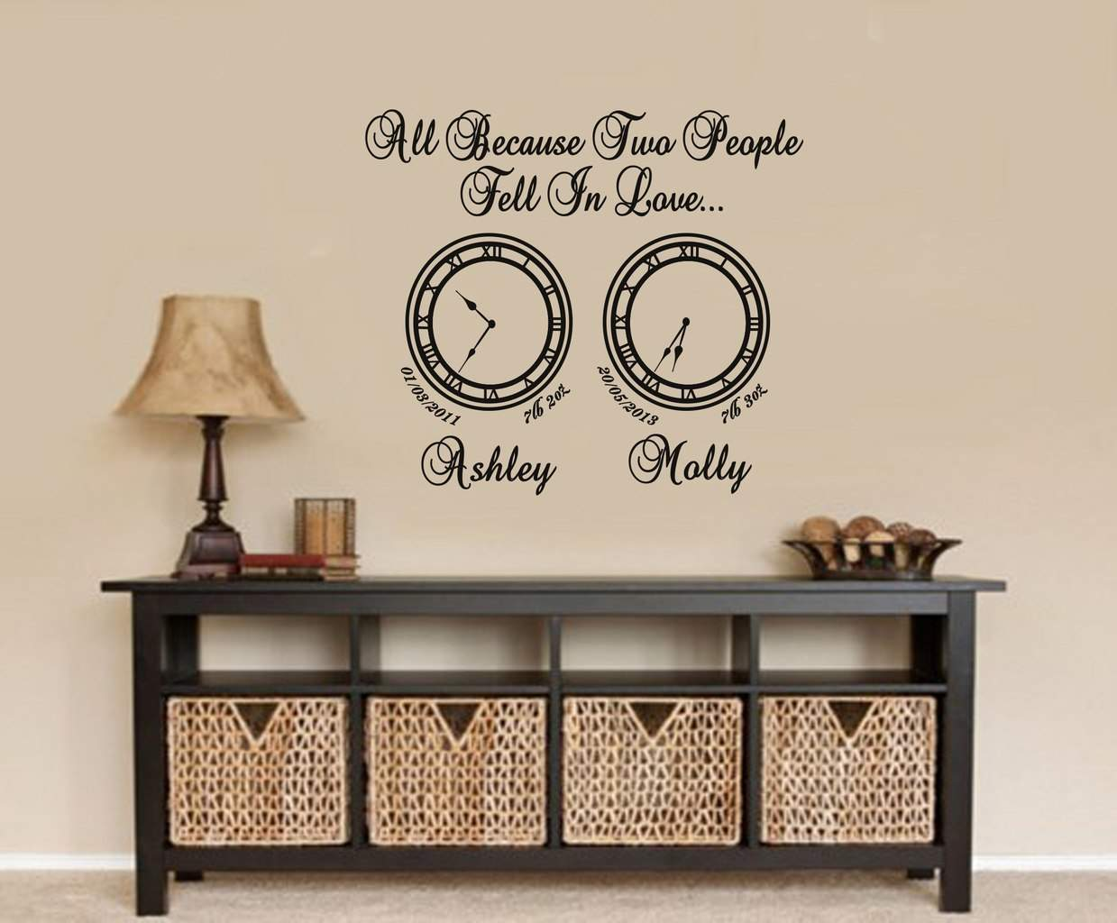 hold the moment with date of birth clock decals by ey memory clocks all because date of birth clocks wall art decal stickers