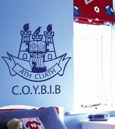 Dublin crest C.O.Y.B.I.B wall art decal