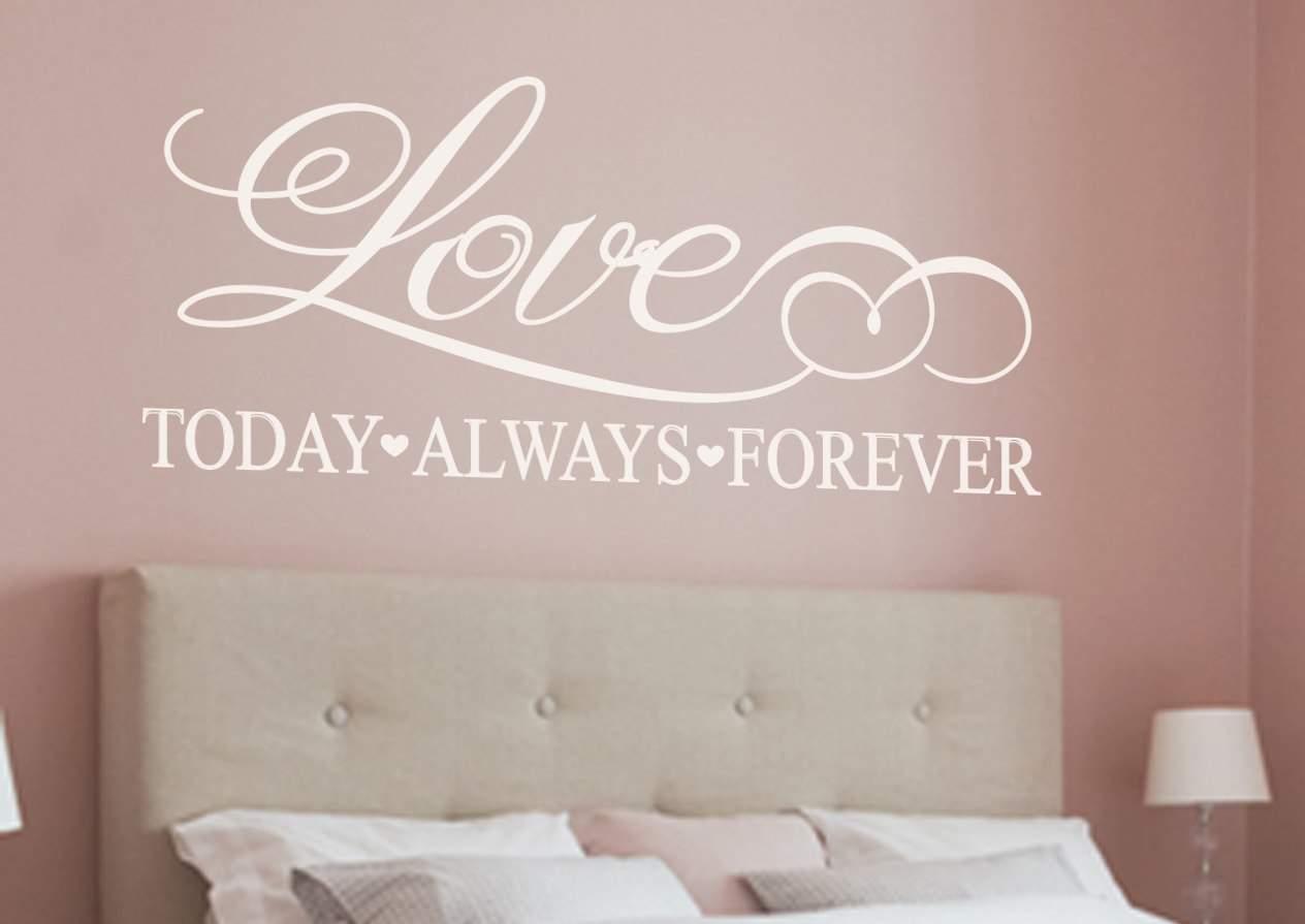 Love wall art decal