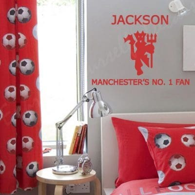 Manchester's no.1 Fan wall art decal