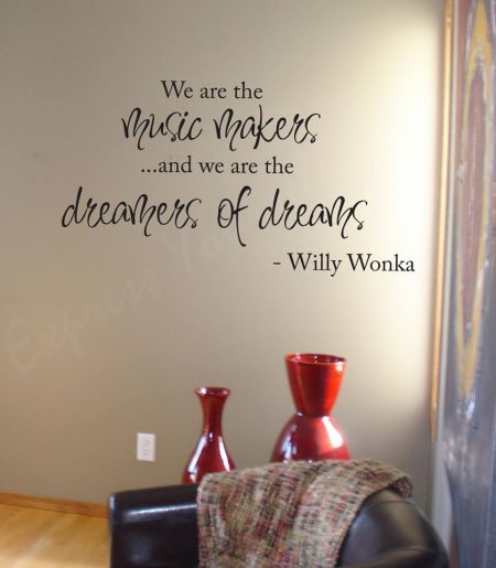 Music makers wall art decal
