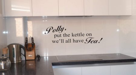 Polly wall art decal