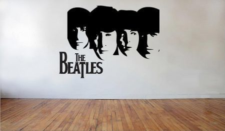 The Beatles wall art decal
