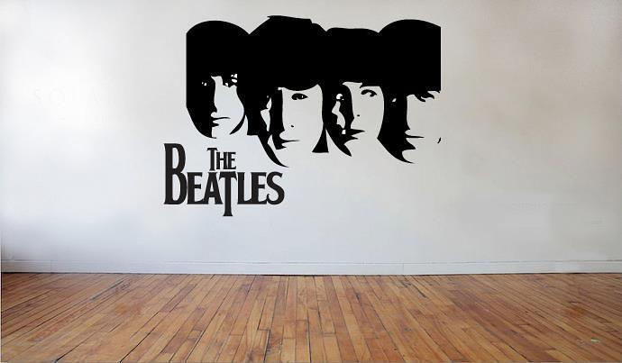 The Beatles wall art decal | wall decal | wall art decal sticker