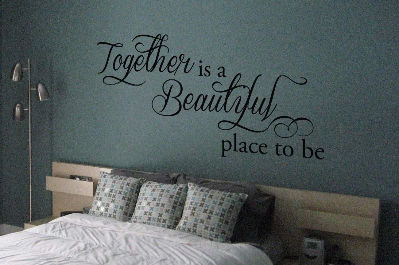 Together wall art decal