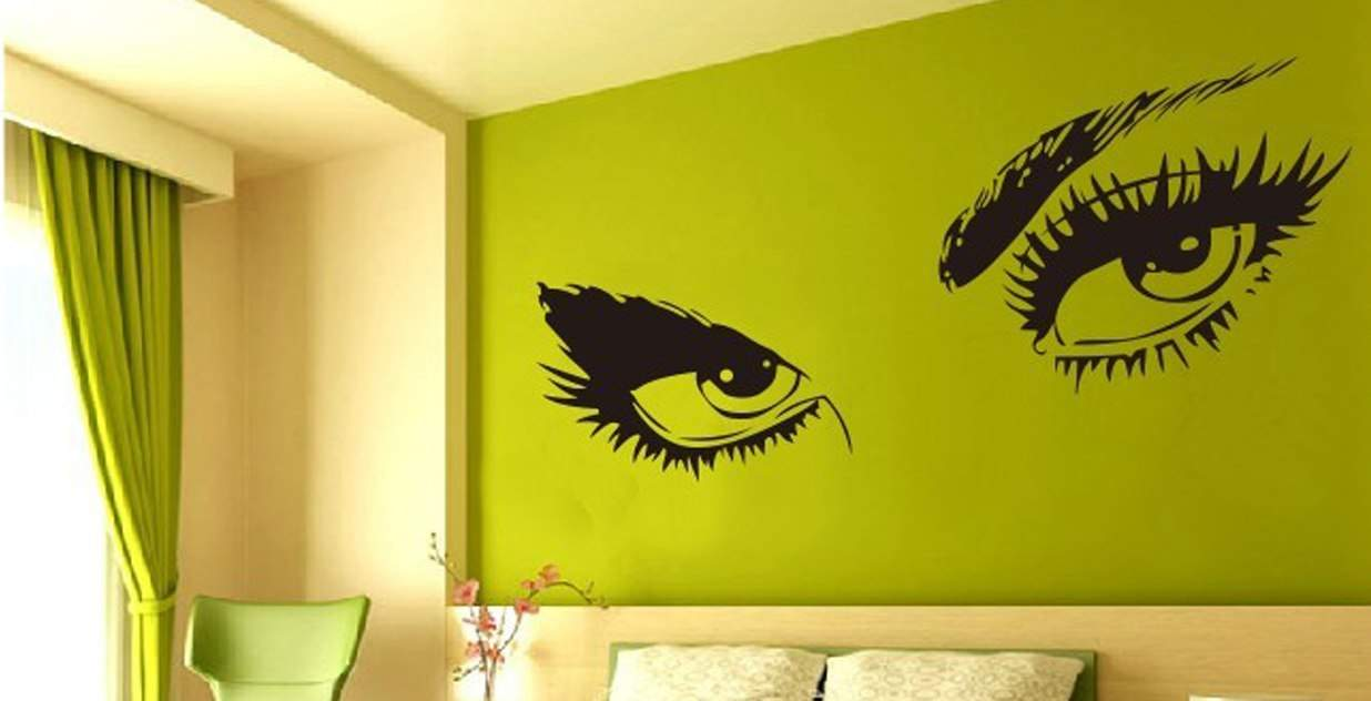 Beauty and glamour wall art decal stickers | wall decals | wall ...