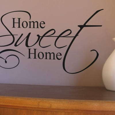 Home Sweet Home wall art decal