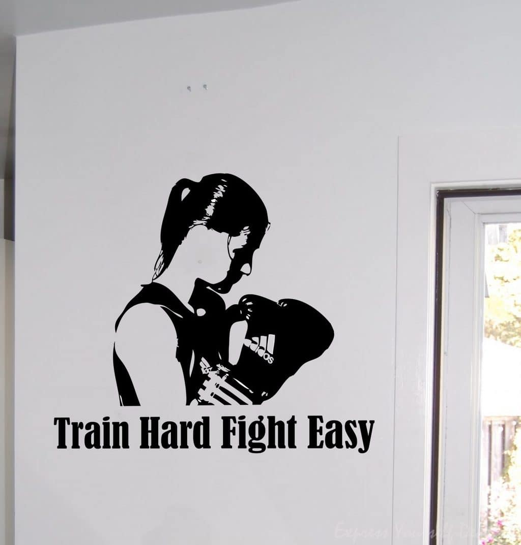 Katie Taylor wall art decal