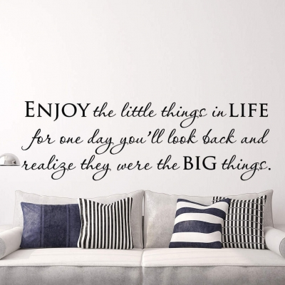 Life Quote Wall Decals