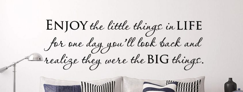 Wall decals | Little things wall art decal