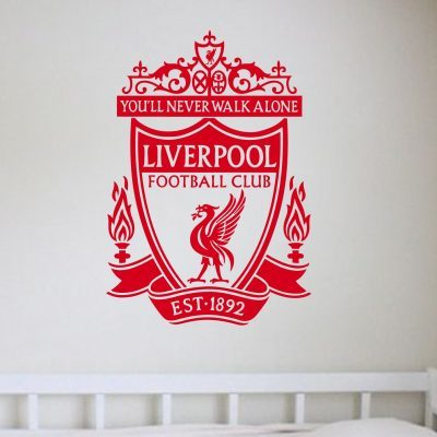 Liverpool crest wall art decal
