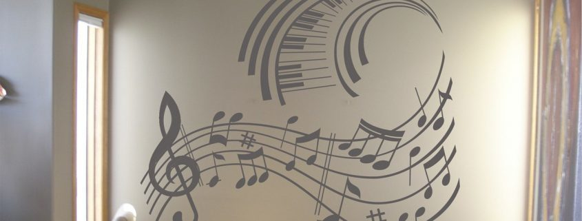 Music - wall art decal Music wall art decals