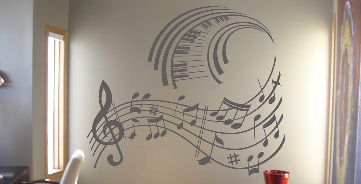 Music - wall art decal Music wall art decals