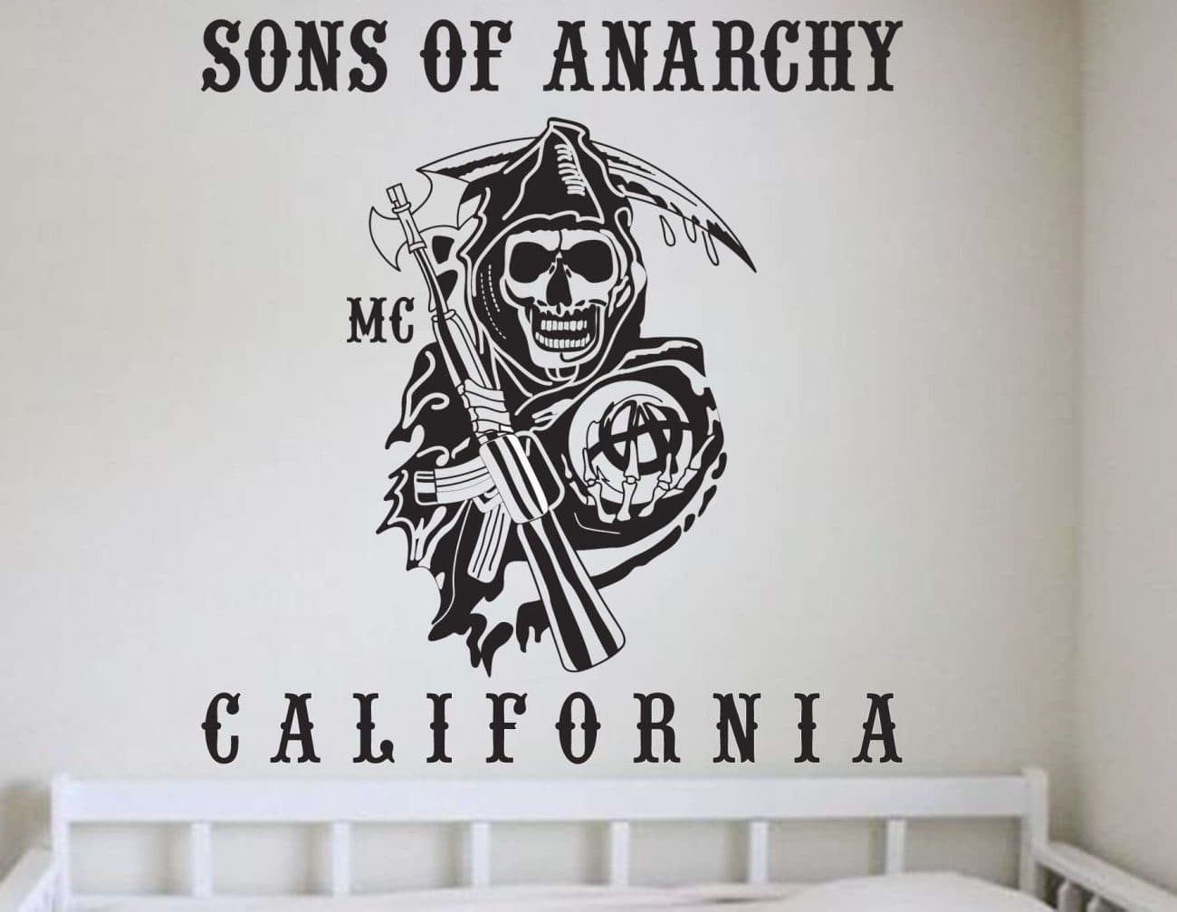 Sons of anarchy wall art decal