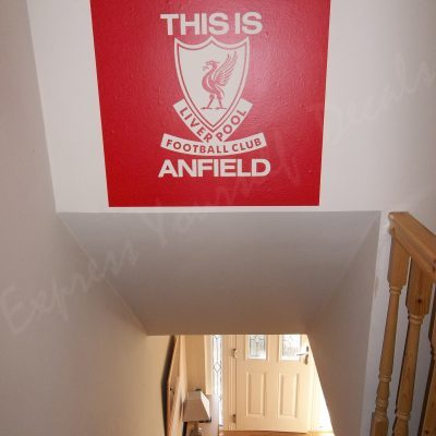 Liverpool This is Anfield wall art decal