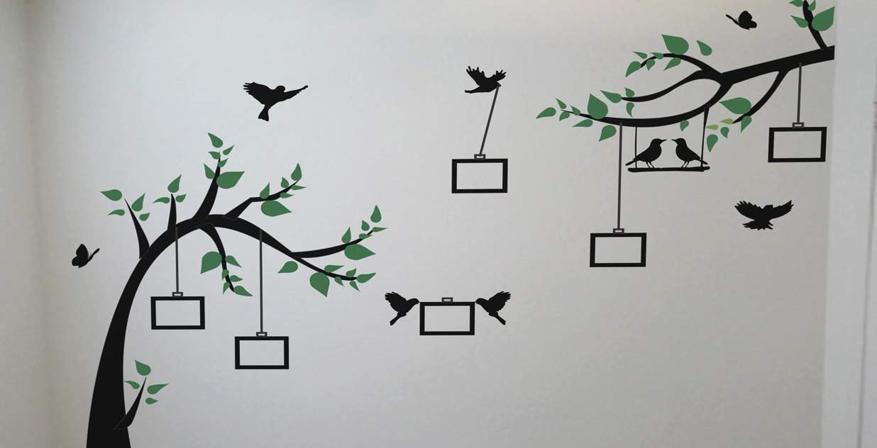 tree wall art decal stickers