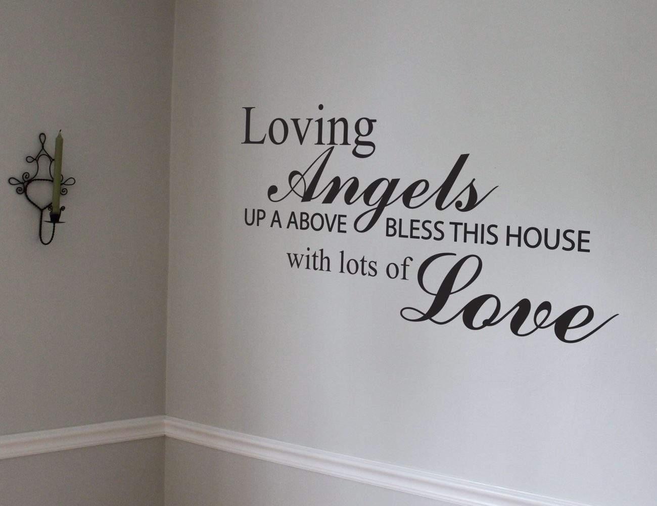 Loving Angels wall art decal sticker