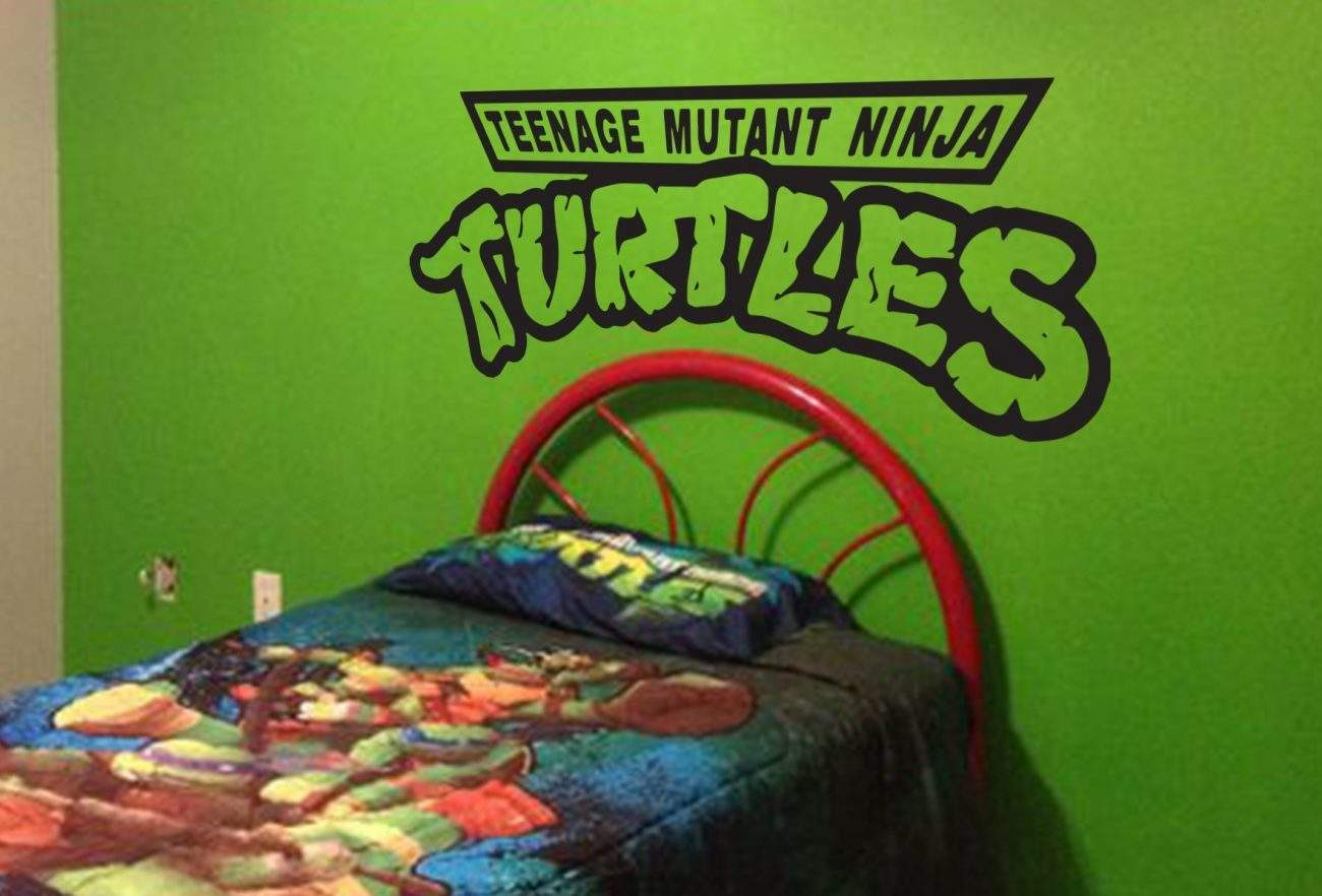 Teenage mutant ninja turtles wall decal sticker
