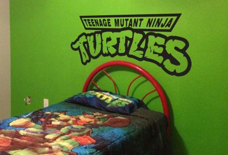 Teenage mutant ninja turtles wall decal sticker