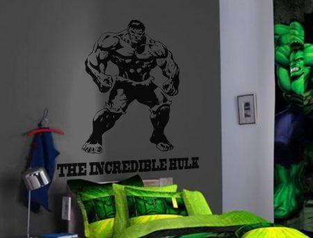 The hulk wall art decal sticker