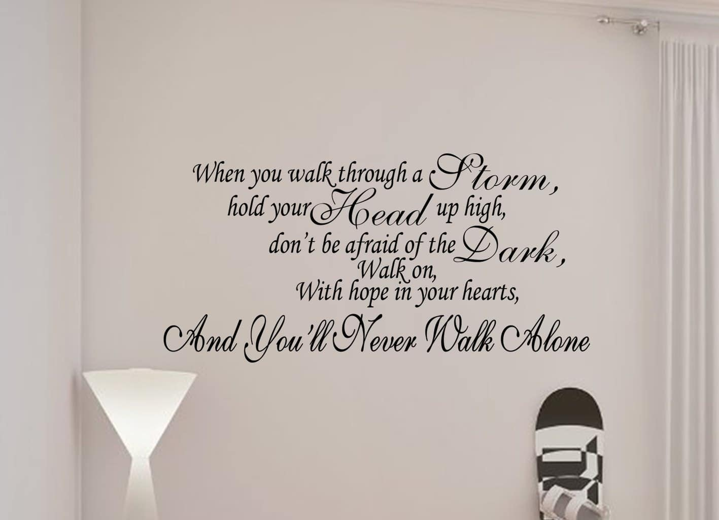 Fashion quotes wall decals