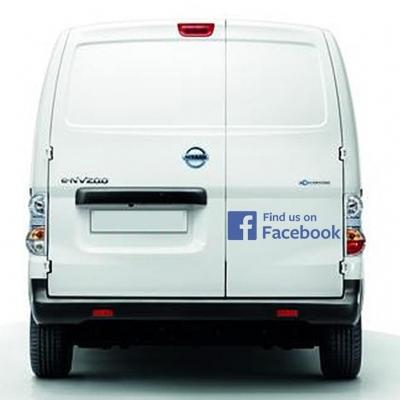 Facebook decal Vehicle/Window sticker