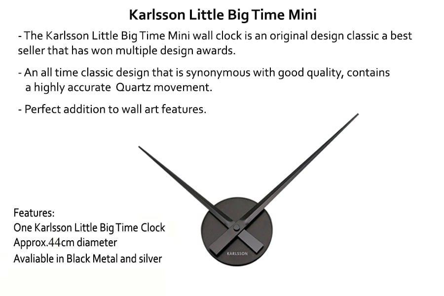 Karlsson Little Big Time Mini