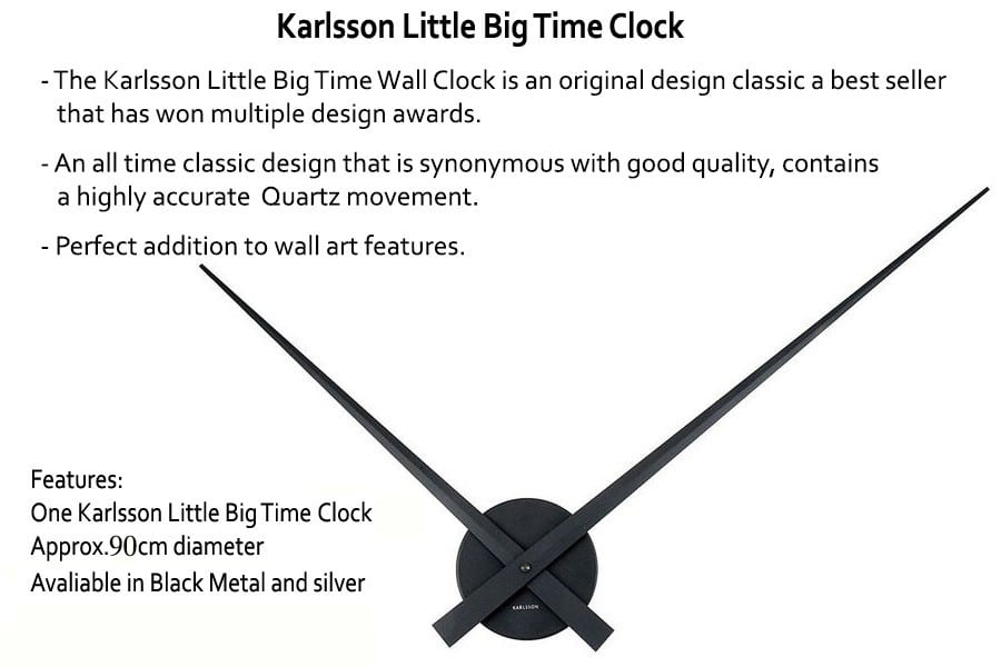 karlsson little big time clock 90cm
