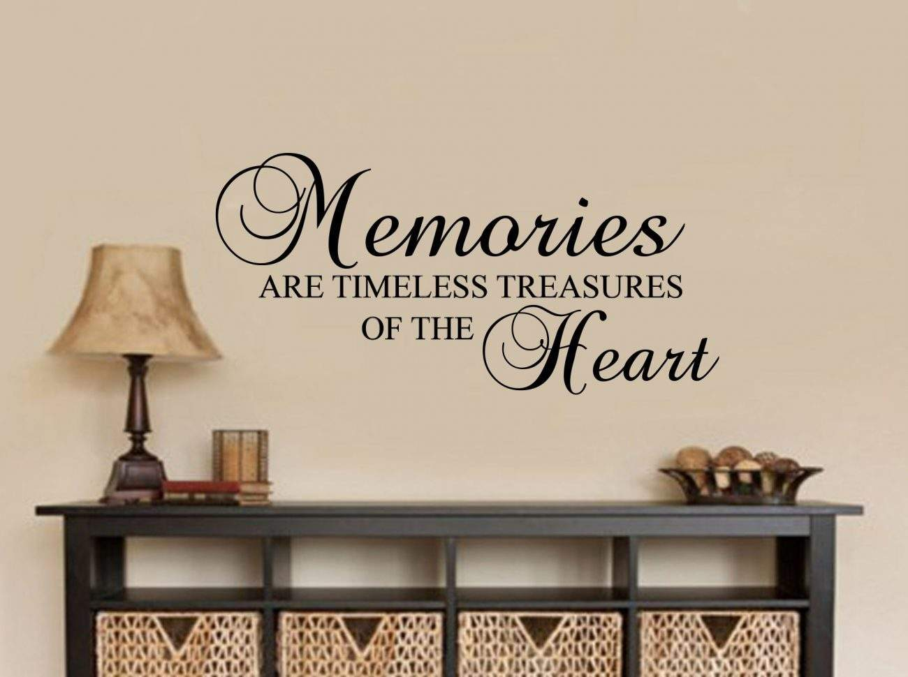 Memories wall art decal
