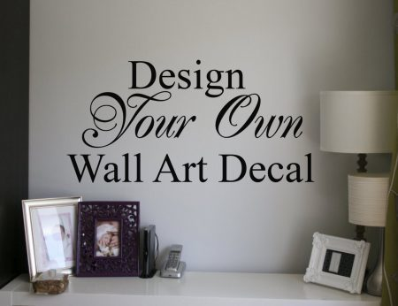 Design your own decal, Custom wall decal, Design your own decal