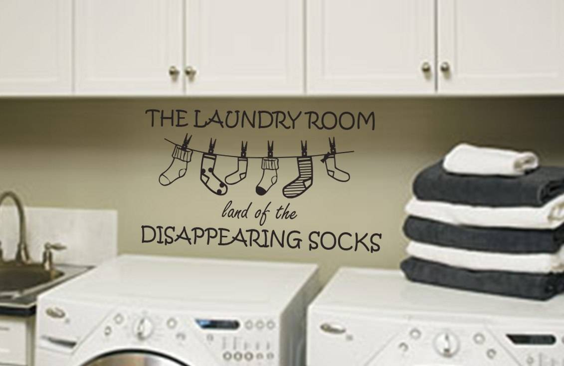 Stickers Laundry Room Laundry Room Wall Art  Wall Art Decal Sticker