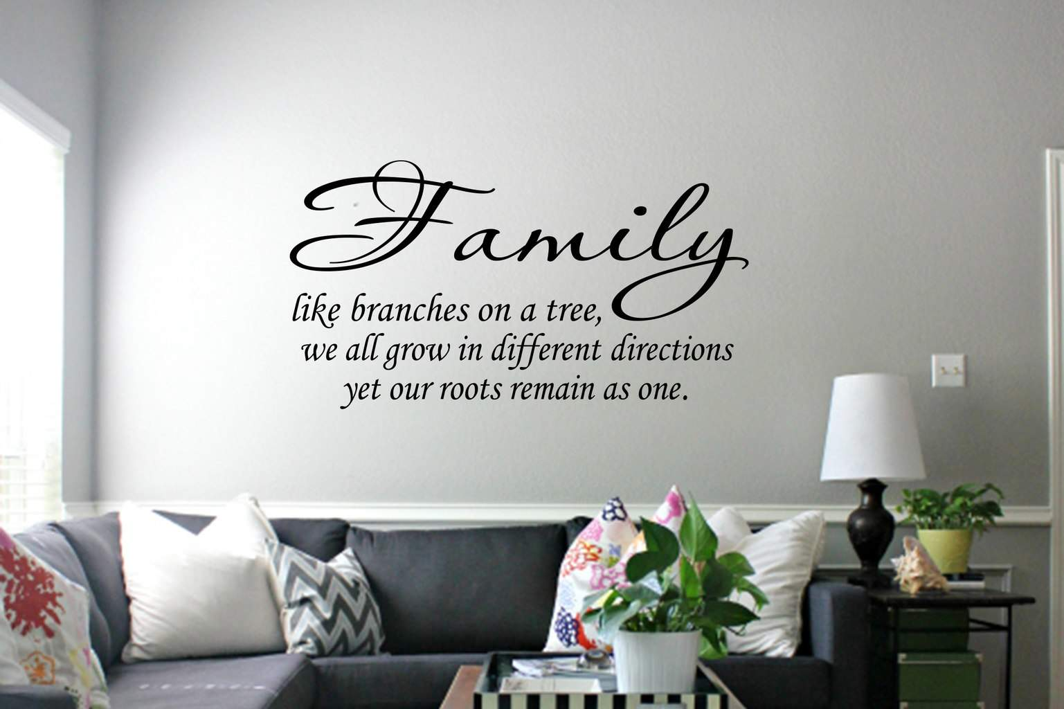 Family Like Branches Wall Art Decal Sticker - Wall decals about family