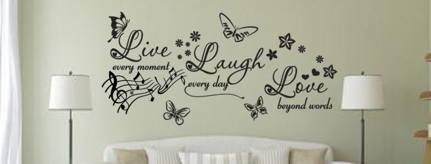 Inspirational quotes Inspirational wall decals