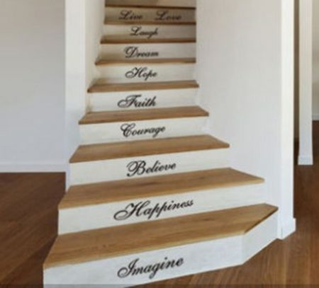 Stairs word quotes