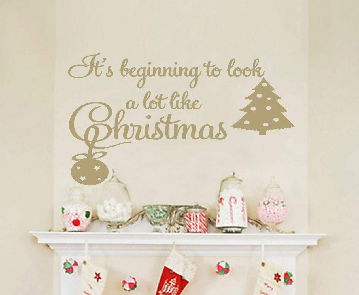 It\'s beginning to look a lot like Christmas sticker | wall decals ...