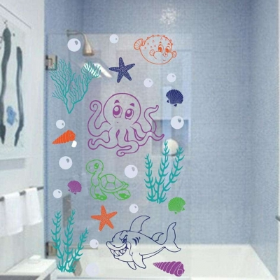 Under the sea decal
