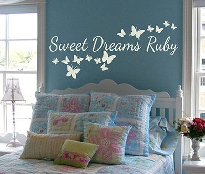 Dreams come true wall decal | dream wall decal | dream wall quote