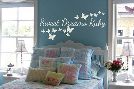 Dreams come true wall decal |dream wall decal| dream wall quote