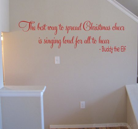 Buddy the Elf wall art decal sticker