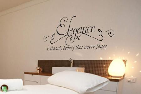 Elegance wall decal sticker