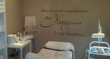 How old you are wall decal sticker