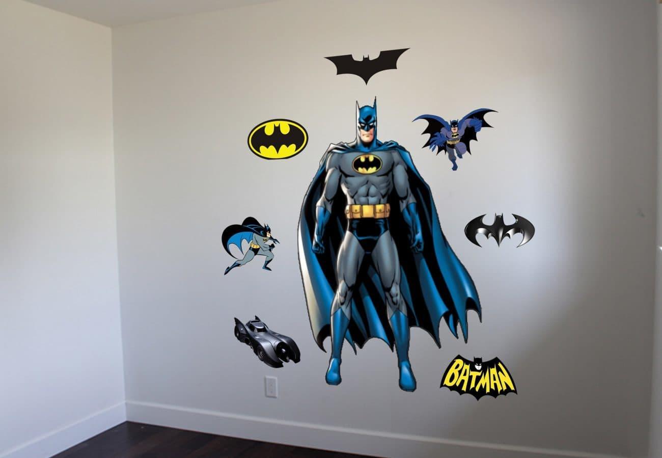 Batman wall decal graphic Batman wall decal sticker