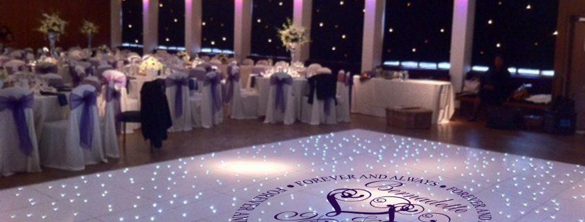 Wedding dance floor decal sticker