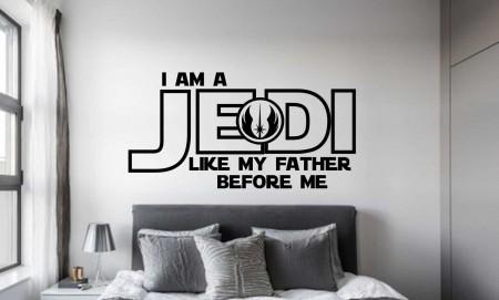 Star Wars Jedi wall decal