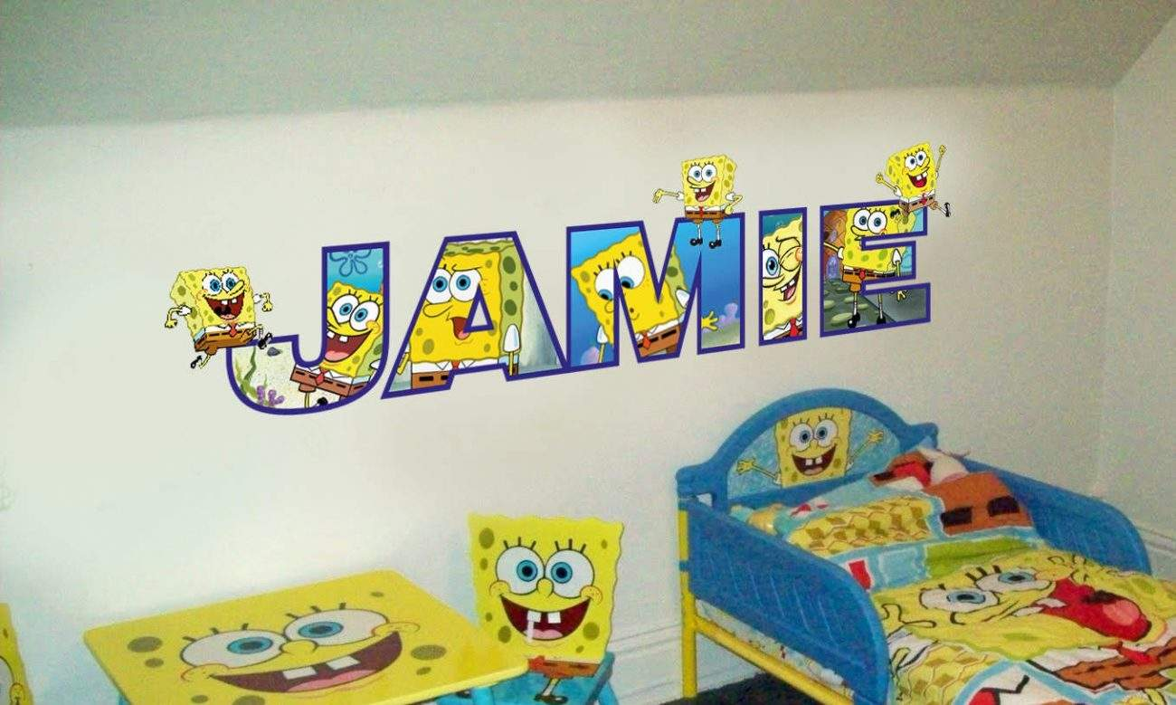 Personalised name spongebob